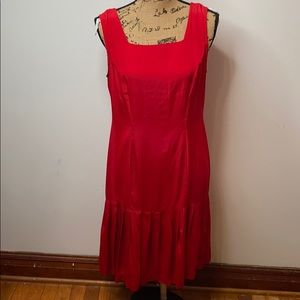 Hearts 2 pices drees size 10 red